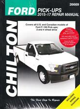 2015 - 2017 Ford F150 2WD 4WD Chiltons Repair Service Shop Manual 23092