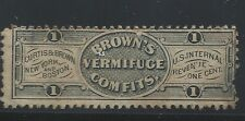 RS 69a-CURTIS AND BROWN 1 CENT-- PRIVATE DIE  MEDICINE STAMP--50