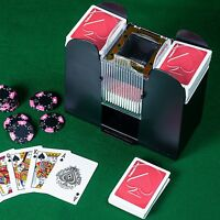 Automatic Card Shuffler Machine Shuffling Casino 6-Deck Playing Cards Gift