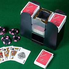 Casino 6-Deck Automatic Card Shuffler Shuffling Machine Playing Cards Gift