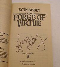 Ultima Saga #1 Forge of Virtue Signed by Lynn Abbey