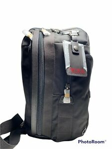 Tumi Morado Sling Bag Backpack New Without Tags Black/ Hickory