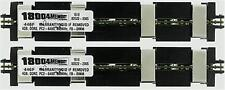 8GB MEMORY KIT 2X4GB FB 800MHz APPLE MAC PRO 8CORE DDR2 PC2-6400 APPROVED APPLE