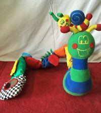 Fisher Price Snail Baby Infant  Developmental & Sensory Toys Vintage Plush