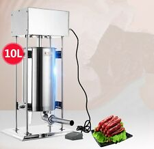 Automatic sausage filling machine 10L Stainless steel sausage filler maker