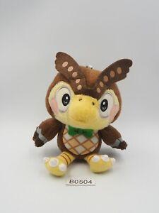"Animal Crossing B0504 Blathers Owl Futa Banpresto 2006 Prize 5"" Mascot Plush"