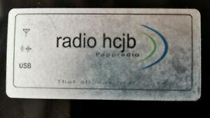 Rarität: HCJB Pappradio SDR Kurzwellenempfänger