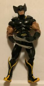 Marvel Legends Wolverine Action Figure Black Suit 5 3/4 Inches Tall Hasbro 2006!