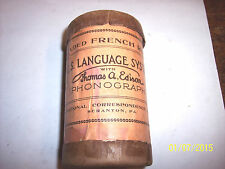CYLINDER PHONOGRAPH LANGUAGE PHONE CONTAINER