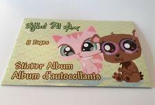 Littlest Pet Shop LPS Authentic Sticker Book Album 8 Pages Hasbro Sandylion 2009