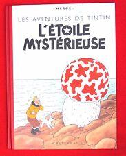 Les aventures de Tintin. Fac similé L'étoile mystérieuse. EO couleurs de 1942