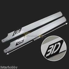 3D 550mm Carbon Fiber Main Blade for Trex 550 Helicopter