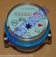 Compteur d'eau divisionnaire cadran à sec longueur 80 mm locataire pompe etc...