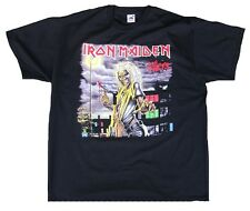 Geil! Official Iron Maiden I 'm a Killer estrella de rock heavy metal Black T-Shirt XXL