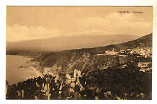Taormina - Panorama Photo Postcard c1910