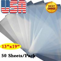 "13"" x 19"" Waterproof Inkjet Transparency Film for Screen Printing 50 Sheets"