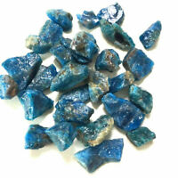 100g Bulk Natural Blue Apatite Rough Tumbled Stone Crystal Quartz Mineral 1-3cm