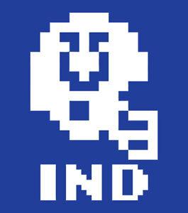 Indianapolis Colts Tecmo Super Bowl shirt retro nintendo football video game