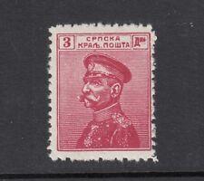 Serbia 1912 3d Petar I SG156 Mint MNH J2974