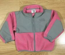 The North Face Denali Coat Baby Toddler size 6-12 Months Pink Gray