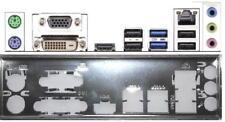 ATX pannello I/O Shield ASROCK b85m-hds #498 io NUOVO b75m Backplate BRACKET NEW