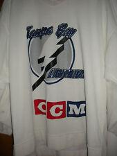 NHL 2006-08 GAME WORN DOUG JANIK TAMPA BAY LIGHTENING PRACTICE  HOCKEY JERSEY