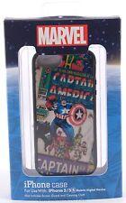 NEW Disney Authentic D-Tech Marvel Comics Captain America - iPhone 5/5S Case