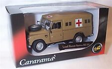 Land Rover Series 111 109 Military ambulance Desert  1-43 scale mib