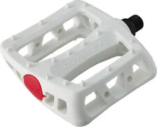 """Odyssey Twisted PC Pedals - Platform Composite/Plastic 9/16"""" White"""
