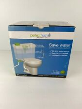 Brondell Perfect Flush Dual Flush Upgrade Push Button Conversion Kit Water Saver