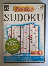 Puzzler Sudoku, PC CD-Rom Game.