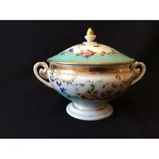 Pot à bouillon porcelaine début XIX ème