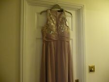 Little Mistress Prom Dress Mink size 14 BNWT