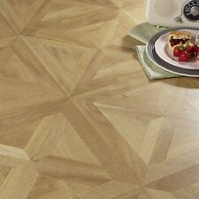 Colours Staccato Natural Oak Parquet Effect Laminate Flooring 1.86m² Pack -NEW