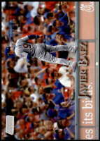 Javier Baez 2019 Topps Stadium Club Variations 5x7 #10 /49