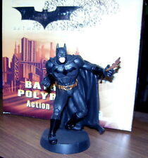 BATMAN FIGURINE WITH BATARANG,, AUTHENTIC, COLLECTABLE,