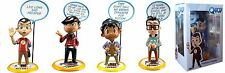 Lot 4 figurines The Big bang Theory de Qmx The Big Bang Theory Q-pop figure lot