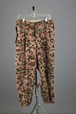 Men's 1962 Austrian Army Pea Dot Camo Pants 32x28 60s Vtg Cotton Camouflage