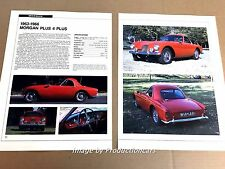 Morgan Plus Four Plus Original Car Review Print Article J669 1963 1964 1965 1966
