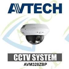AVTECH AVM328ZBP 720p HD Network Dome CCTV Security Camera Indoor