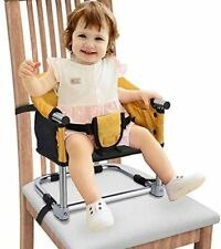 Portable Booster Seat Travel Feeding Seat, Baby Folding High Chair for Home & Tr