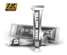 AK-Interactive #455 True Metal - Aluminium (Metallic Paint, 20ml)