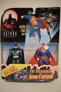 Kenner Batman Adventures World's Finest Two Pack Batman & Superman Action Figure