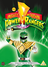 Power Rangers: mal [DVD] Verde Con