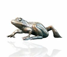 Bird Bronze Sculpture - Frog Walking - Limited Edition. Keith Sherwin.