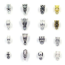 20Pcs Bail Spacer Beads Clips Pendants Clasp Connector For Bracelet DIY Jewelry