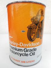 Harley Davidson vecchia lattina olio motore vintage motor oil can