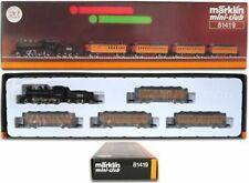 Marklin Z Scale 81419 Casey Jones Steam Passenger Set Orig Box Excellent C8