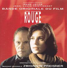 TROIS COULEURS ROUGE - CD - BANDE ORIGINALE DU FILM