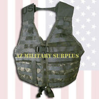 US MILITARY FIGHTING LOAD CARRIER WEIGHT DISTRIBUTING TACTICAL VEST COMPLETE!